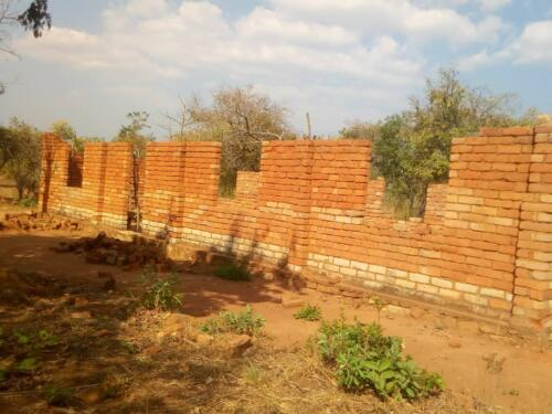 Katumba church construction